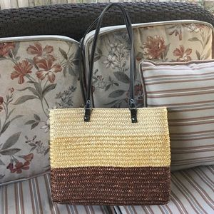 JUST IN Cute straw bag